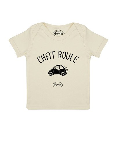 "Tee-shirt ""Chat-Roule"""