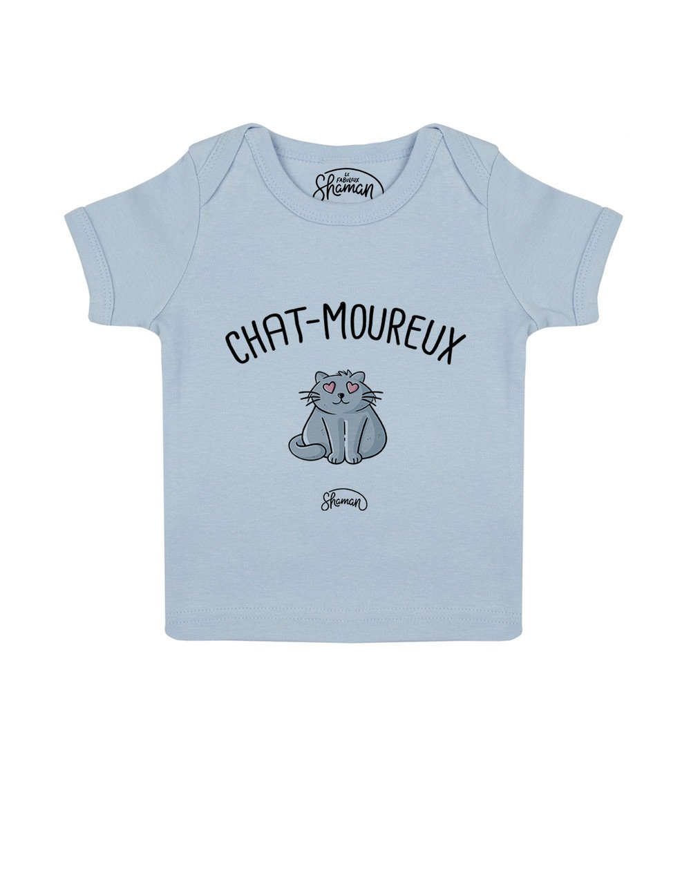 """Tee-shirt """"Chat-moureux"""""""
