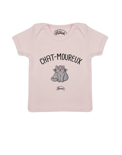 "Tee-shirt ""Chat-moureux"""