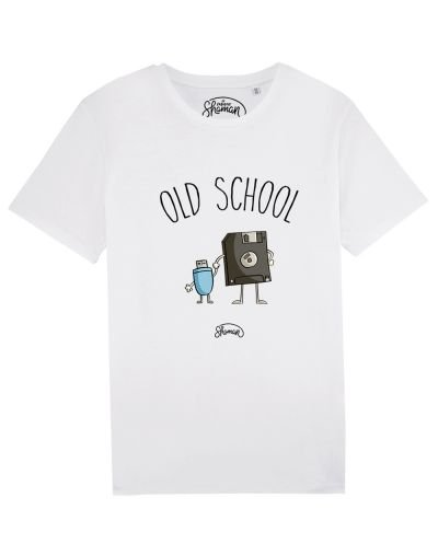 "Tee-shirt ""Old school"""