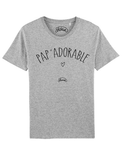 "Tee shirt ""Pap'adorable"""