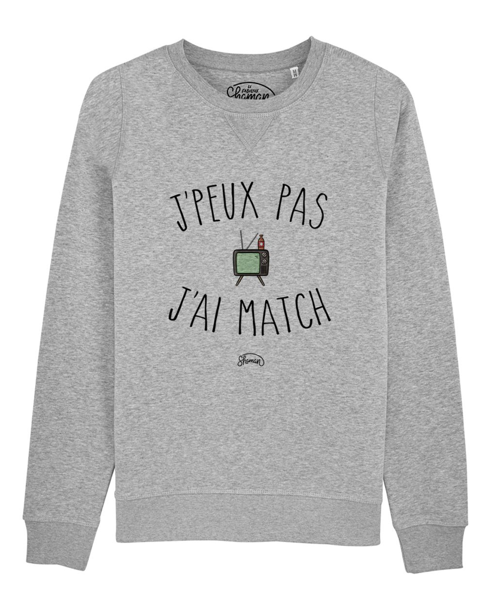 "Sweat ""J'peux pas match"""