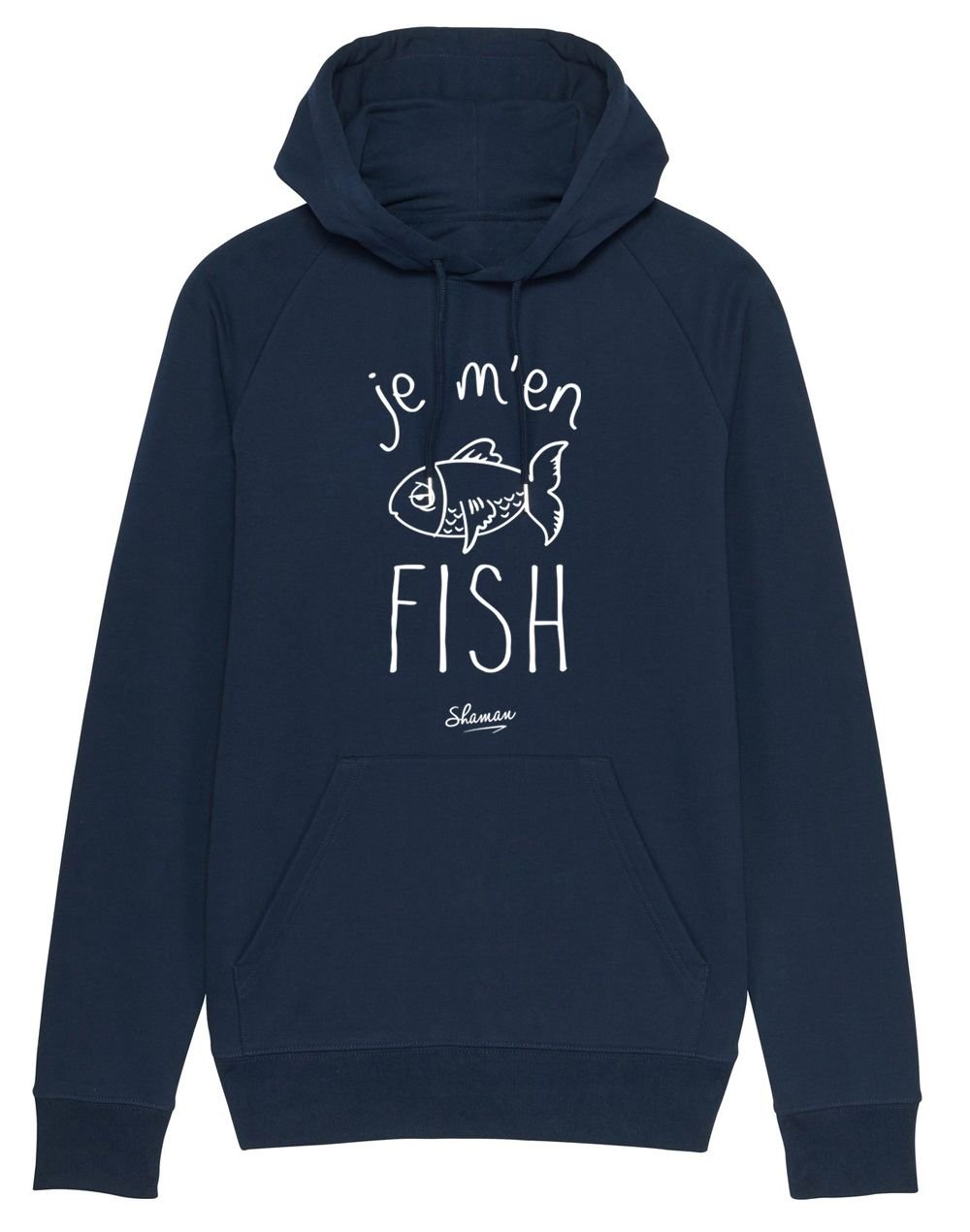 "Sweat capuche ""Fish"""