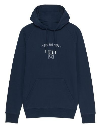 """Sweat capuche """"Geek for ever"""""""