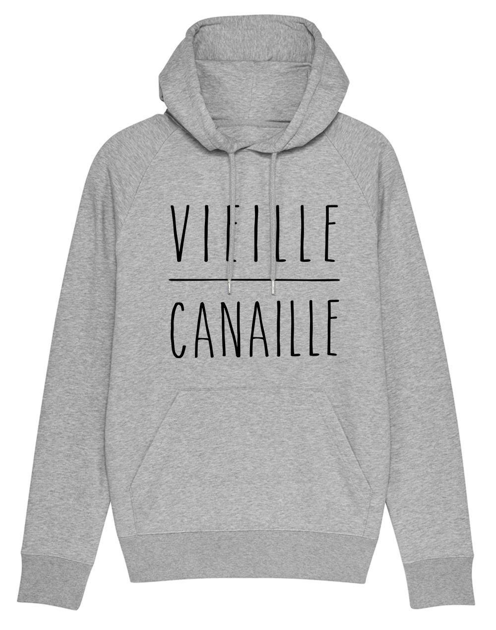 "Sweat capuche ""Vielle canaille """