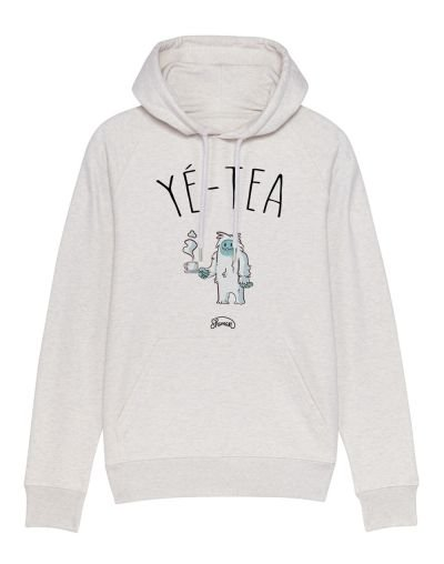 "Sweat capuche ""Yé-tea"""