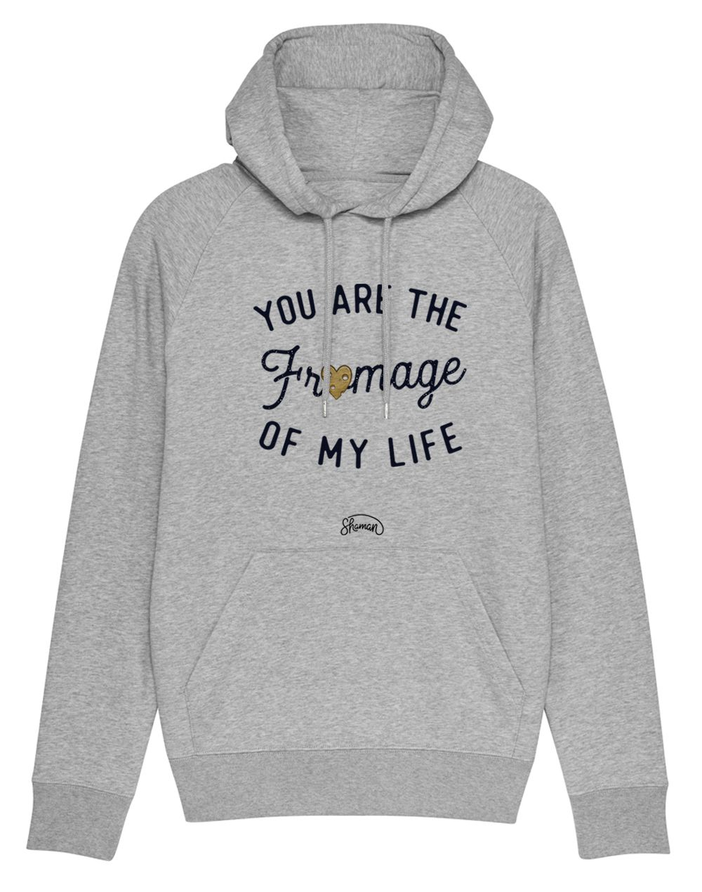 "Sweat capuche ""Fromage life"""