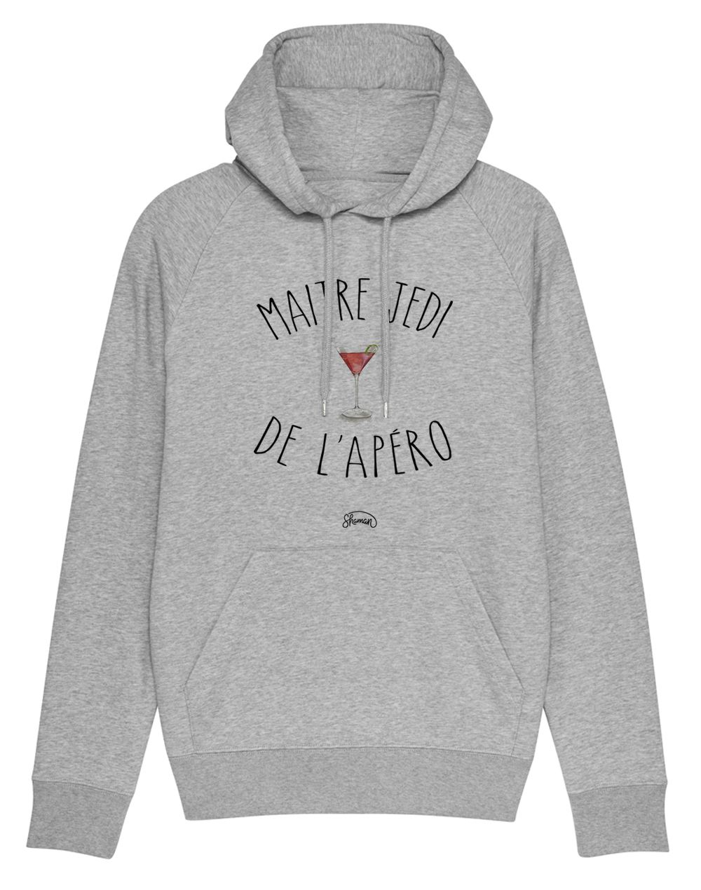 "Sweat capuche ""Maitre jedi"""