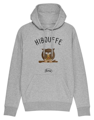 "Sweat capuche ""Hibouffe"""