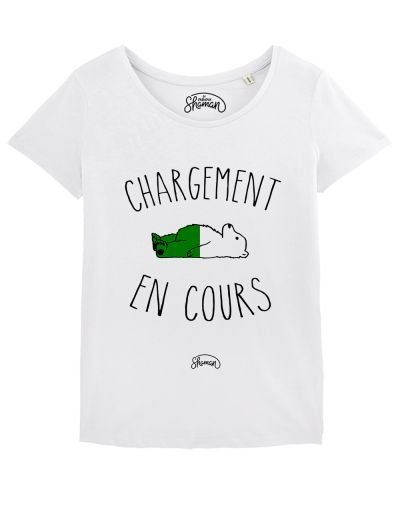 "T-shirt ""Chargement cours"""