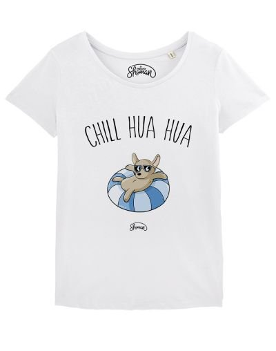 "T-shirt ""Chill hua hua"""