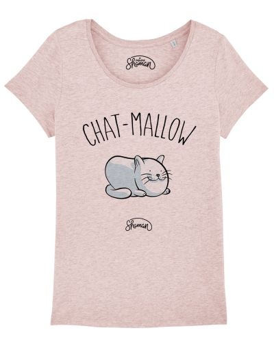 "T-shirt ""Chat mallow"""