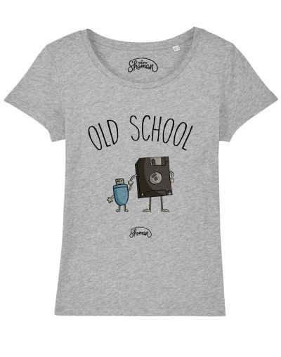 "T-shirt ""Old school"""