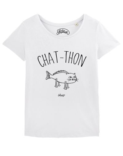 "T-shirt ""Chat thon"""