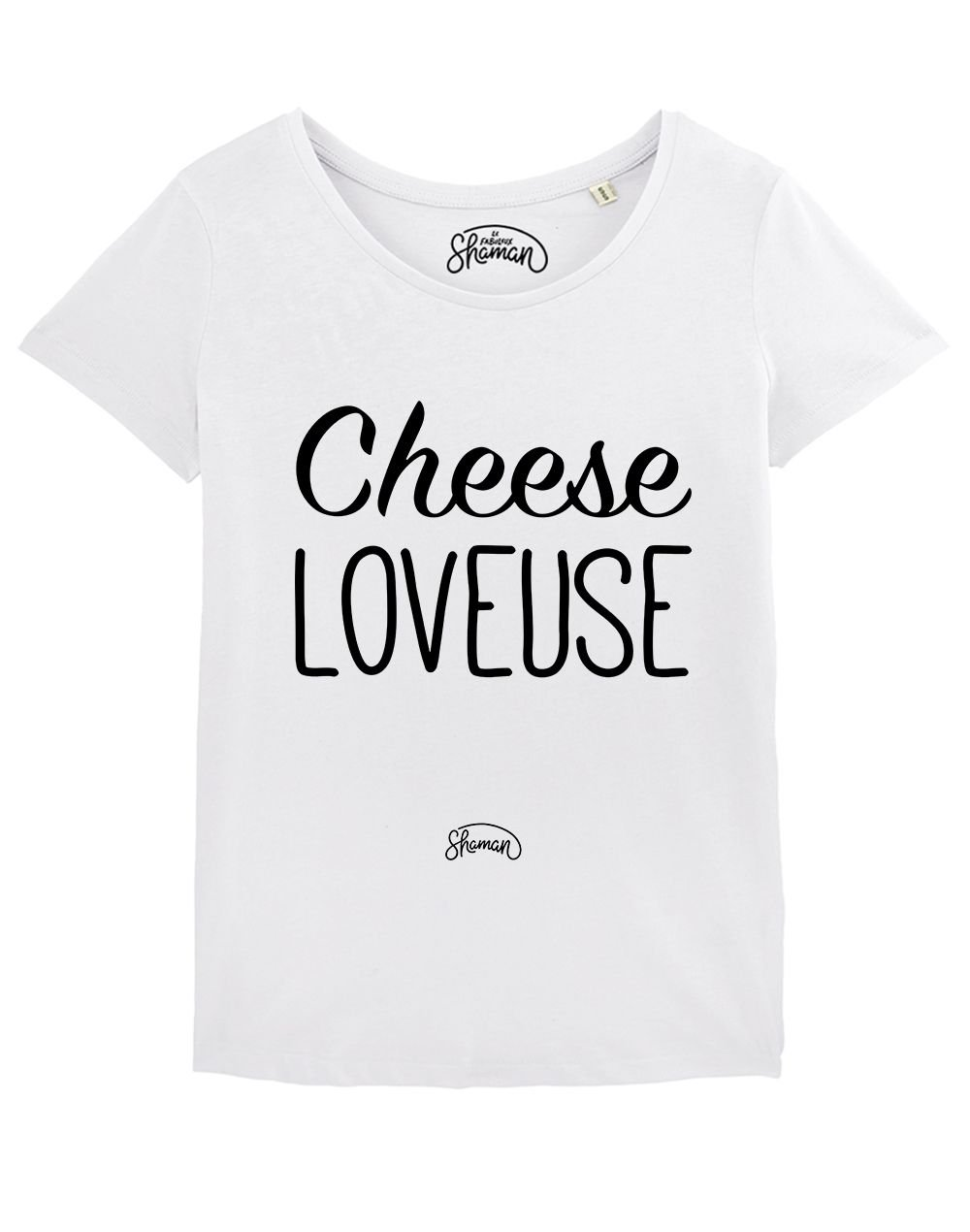 "T-shirt ""Cheese loveuse"""