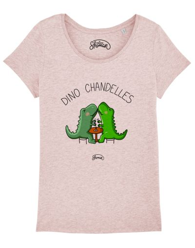 "T-shirt ""Dino chandelles"""
