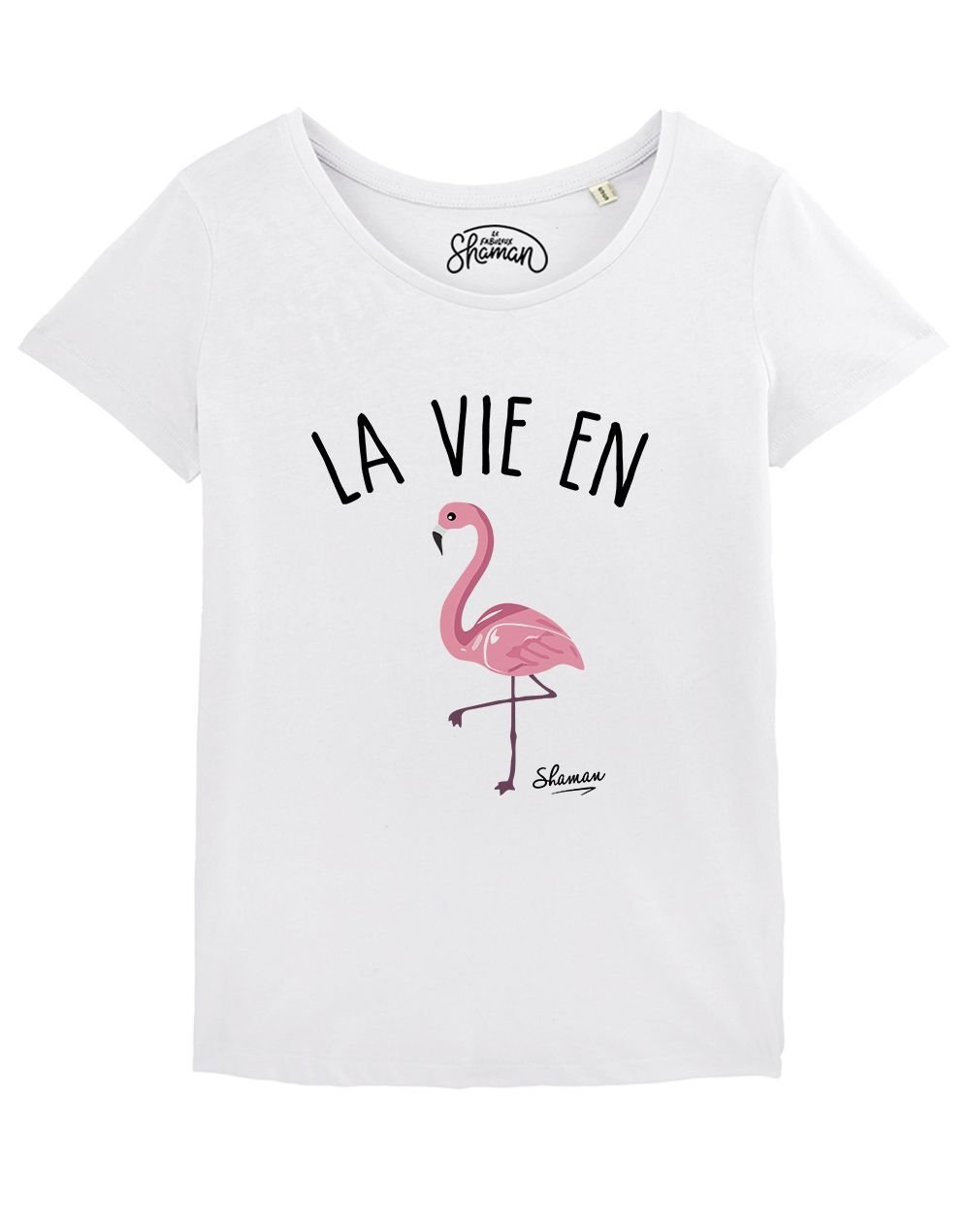 "T-shirt ""La vie en rose"""