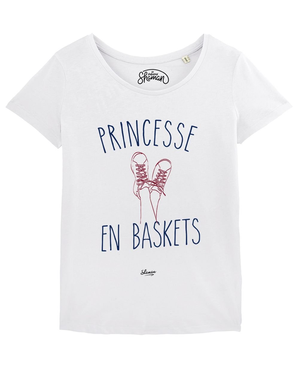 "T-shirt ""Princesse en baskets"""