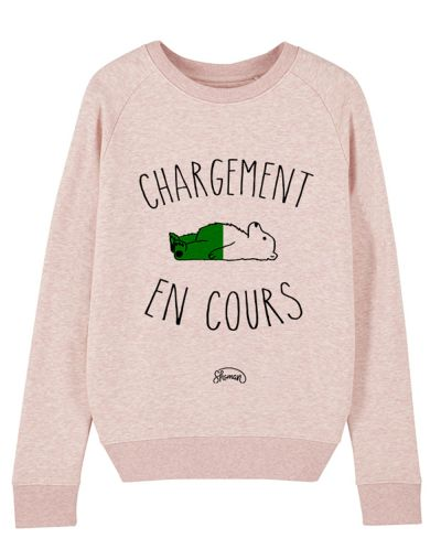 "Sweat ""Chargement cours"""