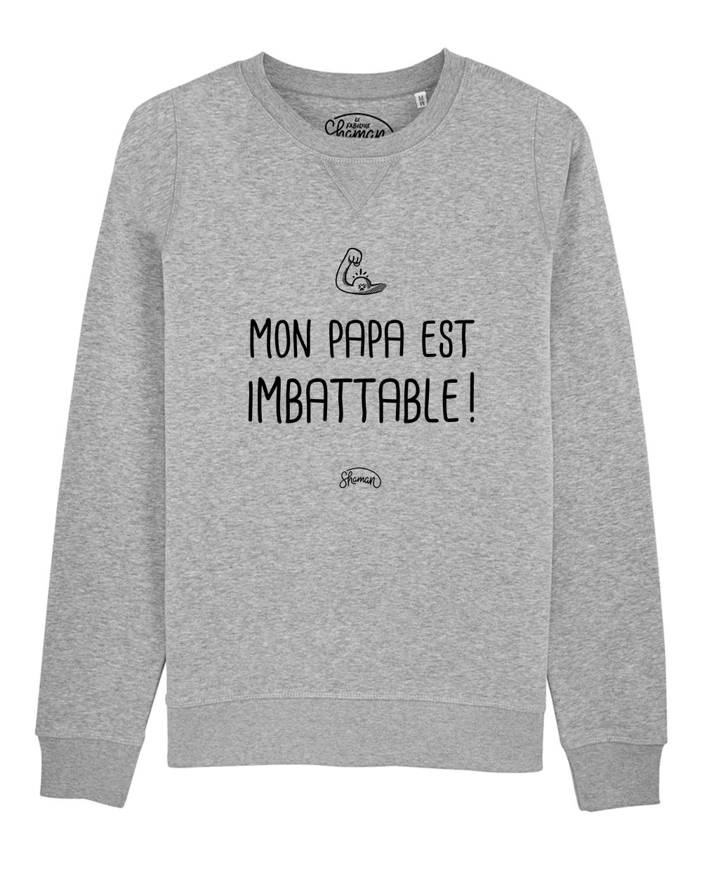 "Sweat ""Papa imbattable"""