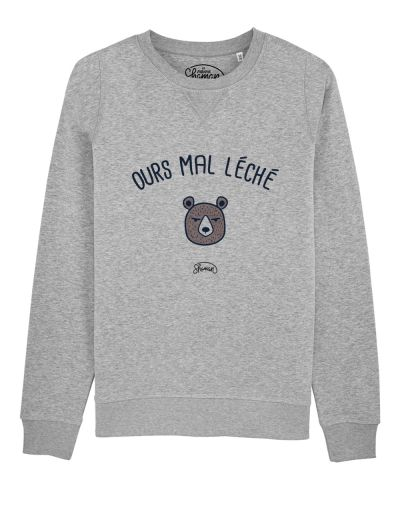 "Sweat ""Ours mal léché"""