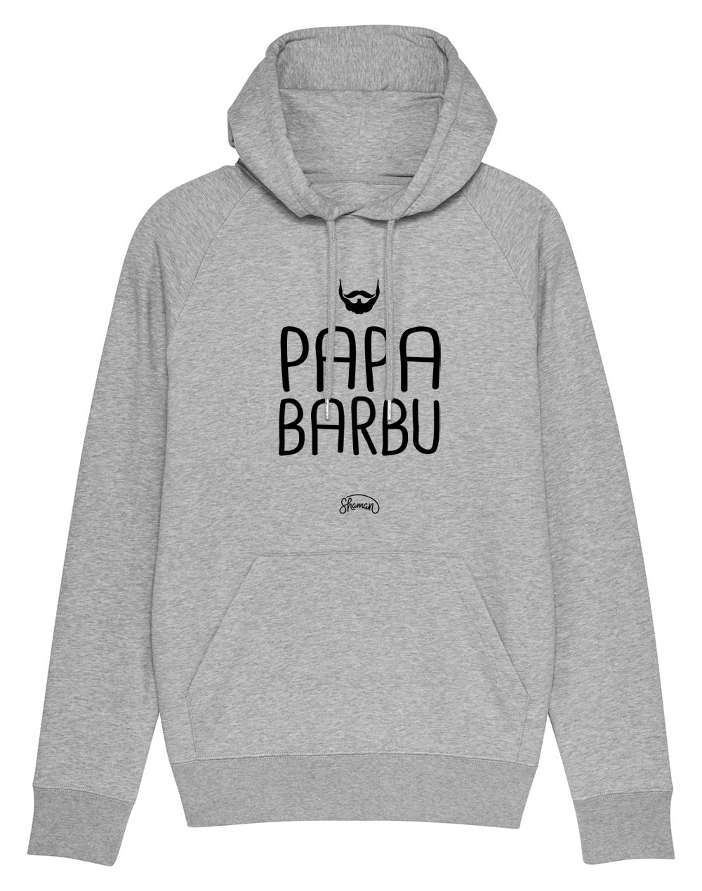 "Sweat capuche ""Papa barbu"""