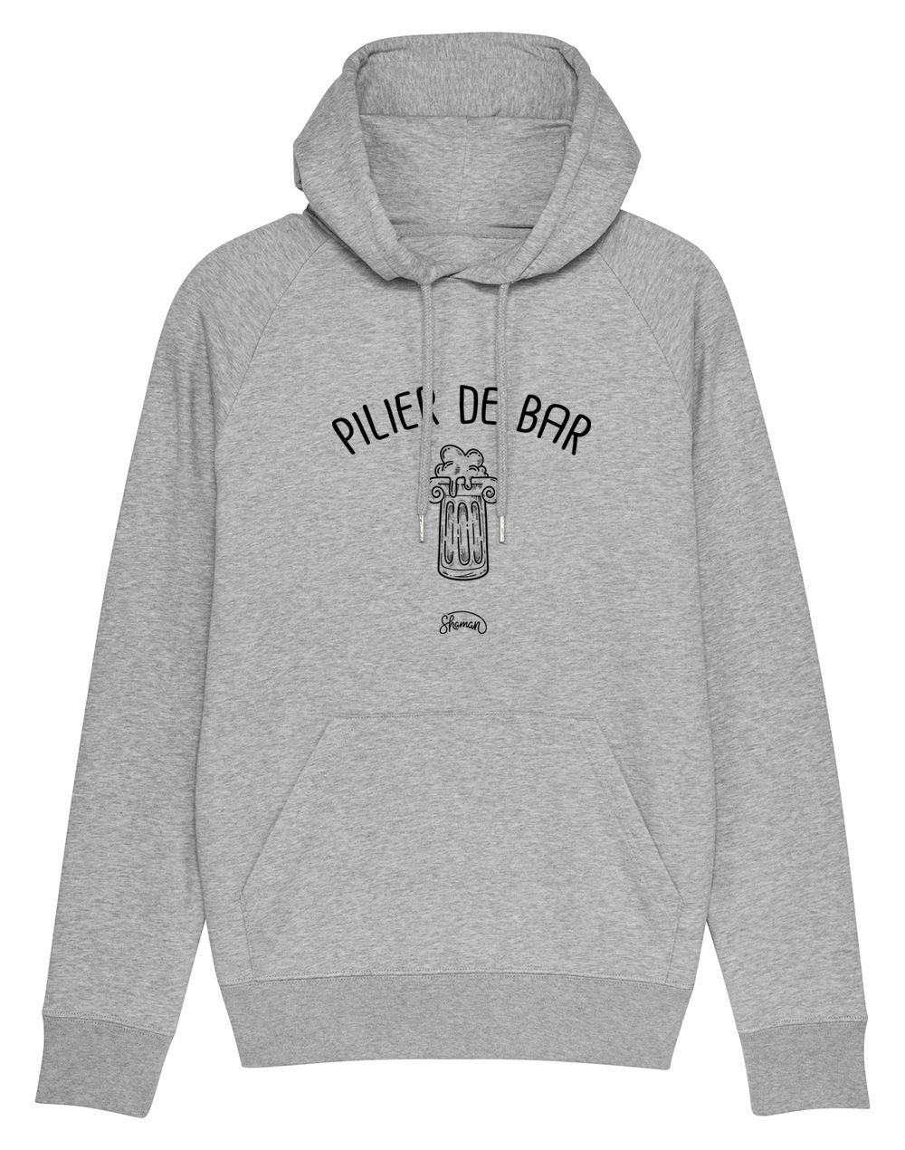 "Sweat capuche ""Pilier de bar"""