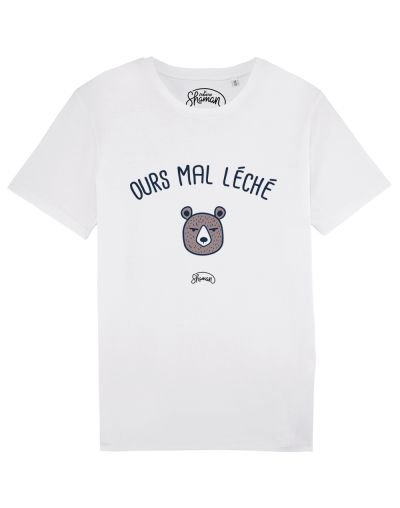 "Tee-shirt ""Ours mal léché"""