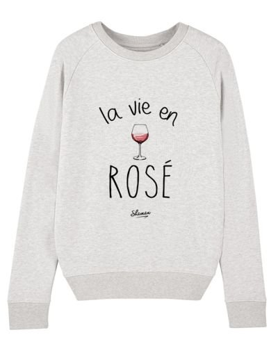 "Sweat ""La vie en rosé"""