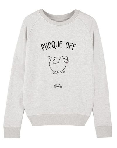 "Sweat ""Phoque off"""