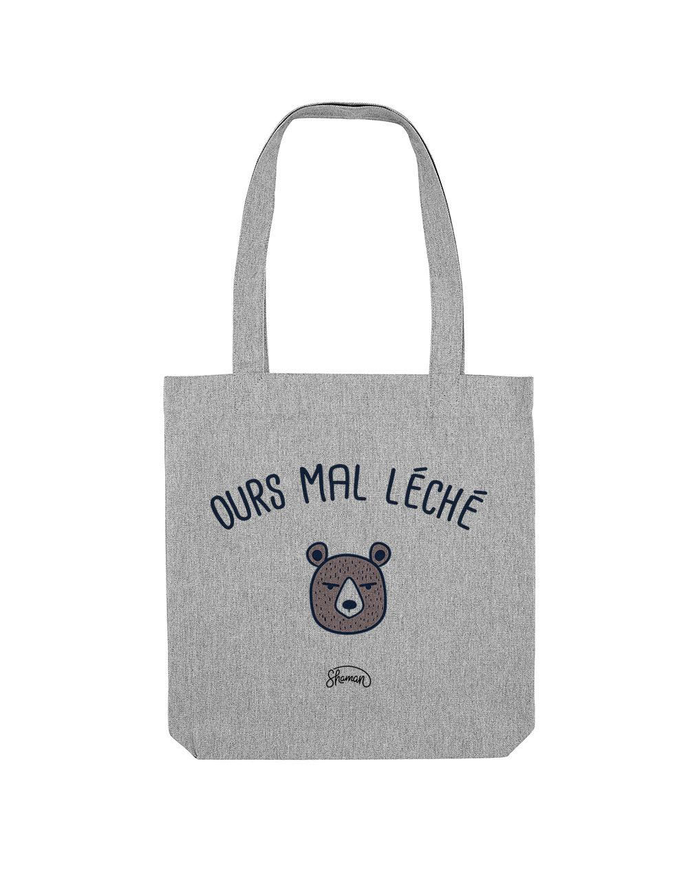 "Tote Bag ""Ours mal léché"""