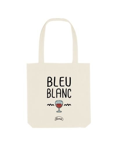 "Tote Bag ""Bleu blanc rouge"""