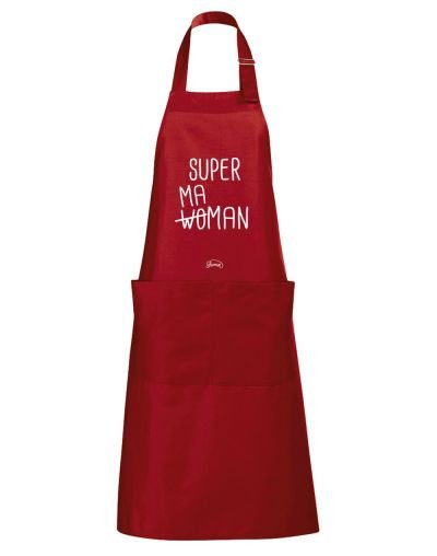 "Tablier ""super maman"""