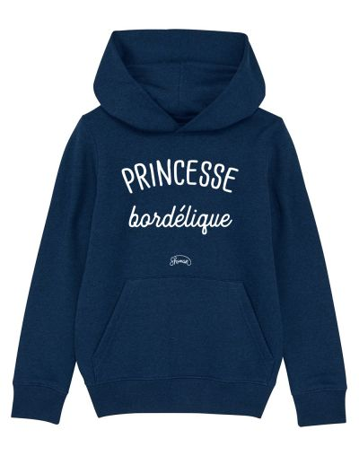 "Sweat capuche ""Princesse bordélique"""