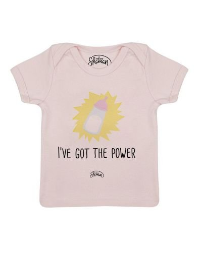 "Tee-shirt ""I've got the power"""
