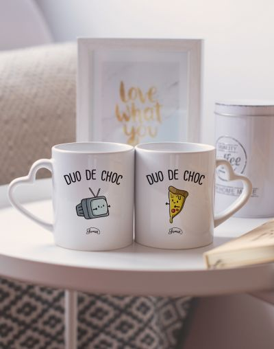 "Mugs duo ""Duo de choc"""