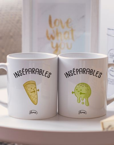 "Mugs duo ""Inséparables"""