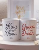 "Mugs duo ""Queen - King"""