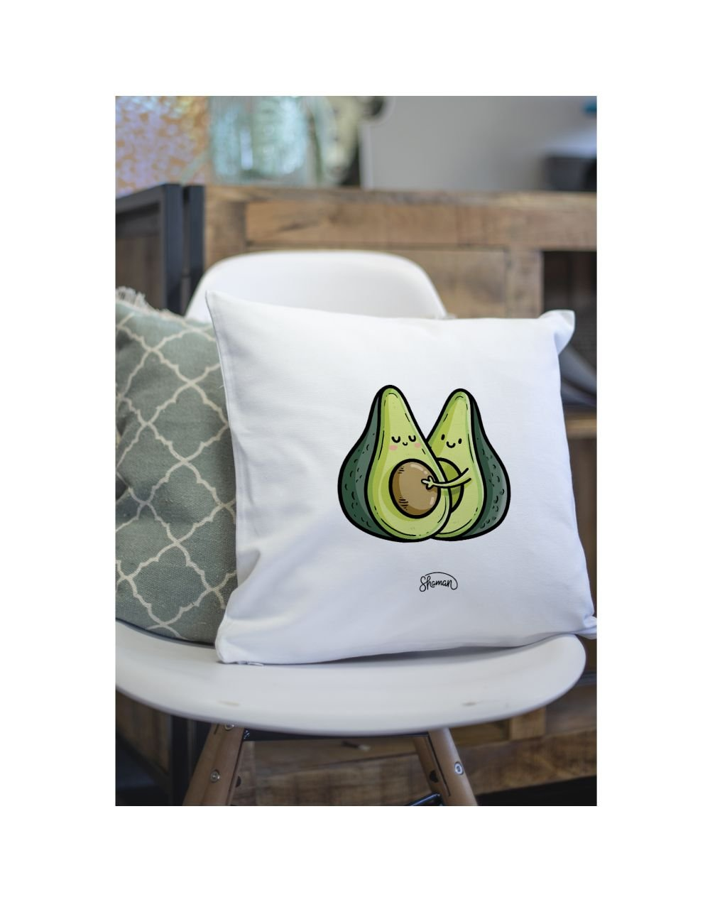 """Coussin """"Avocats couple"""""""