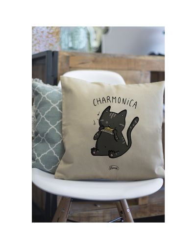 "Coussin ""Charmonica"""