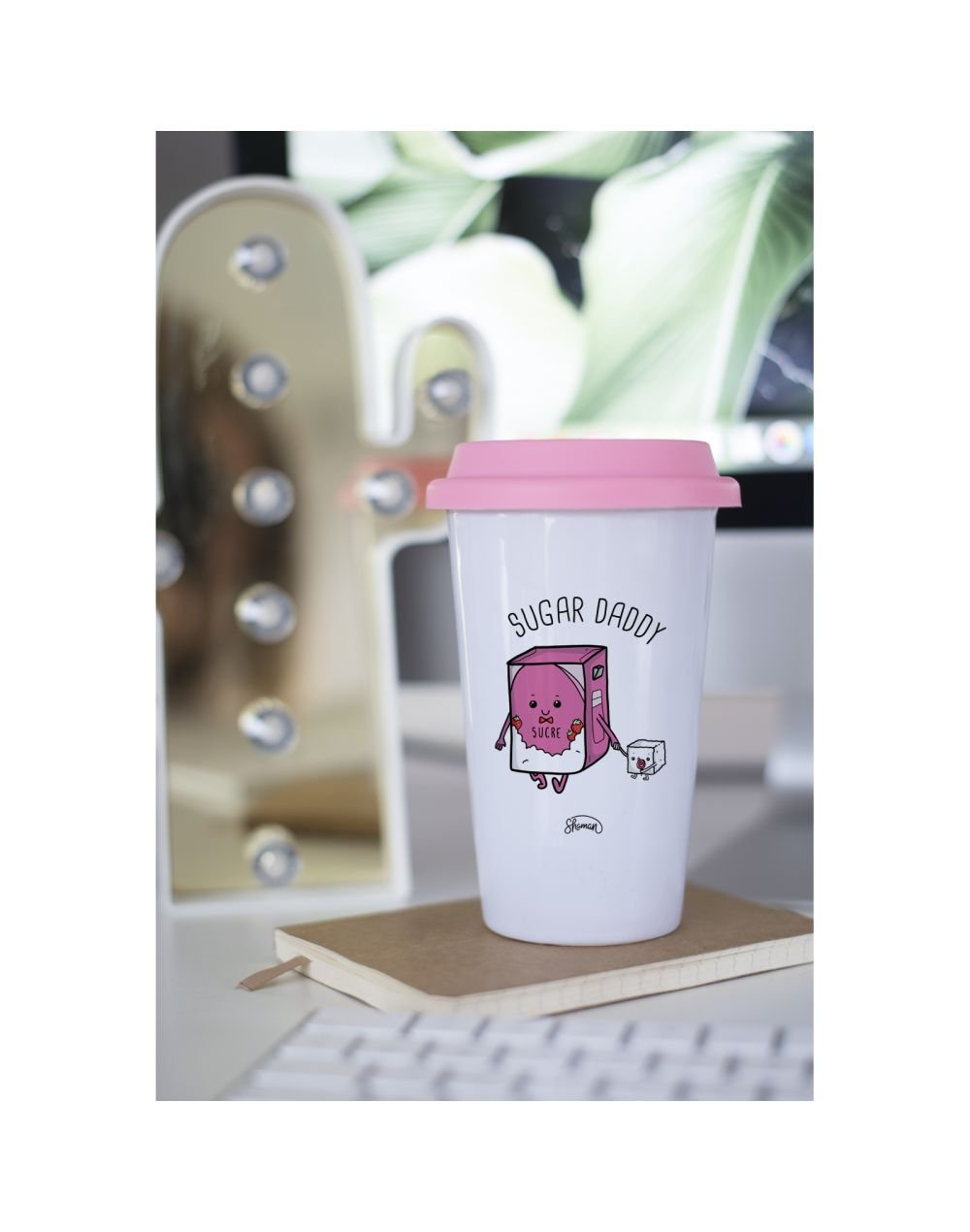 "Mug Take away ""Sugar daddy"""