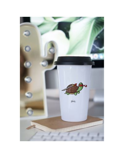"Mug Take away ""Tortue Ninja"""