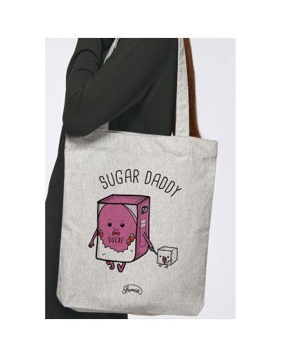 "Tote Bag ""Sugar daddy"""