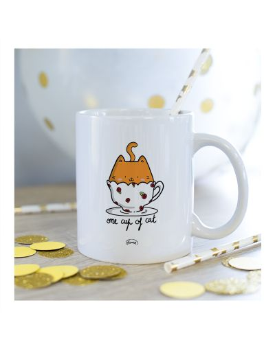 "Mug ""One cup of cat"""