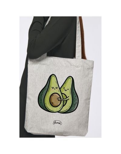 "Tote Bag ""Avocats couple"""