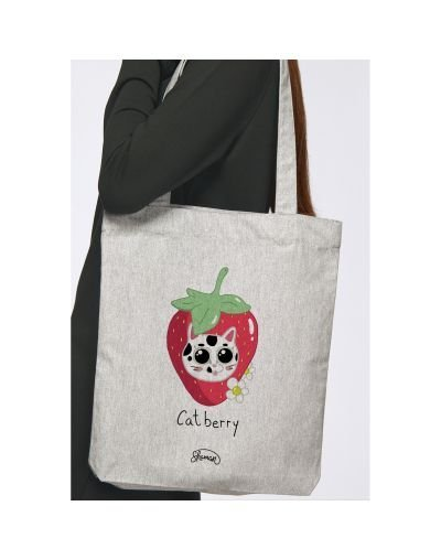 "Tote Bag ""Catberry"""