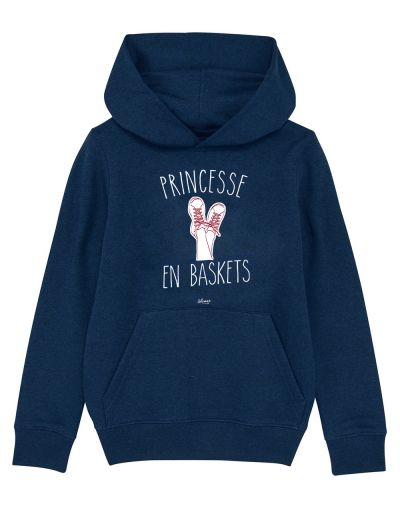 "Sweat capuche ""Princesse baskets"""
