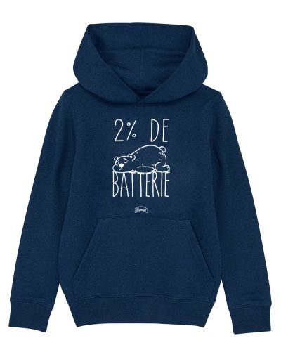 "Sweat capuche ""Batterie 2"""