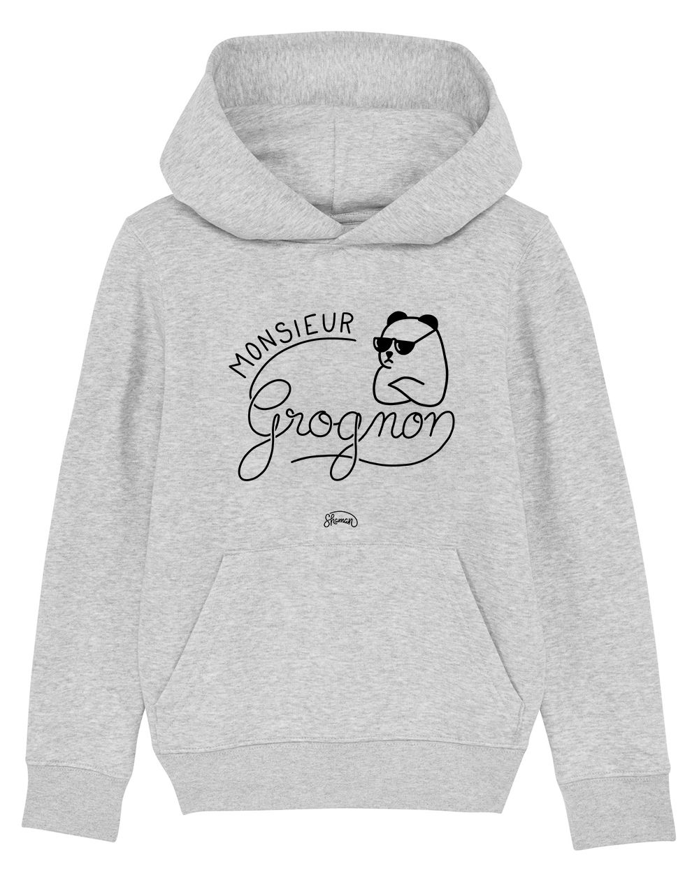 "Sweat capuche ""Monsieur Grognon"""