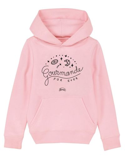 "Sweat capuche ""Gourmande"""